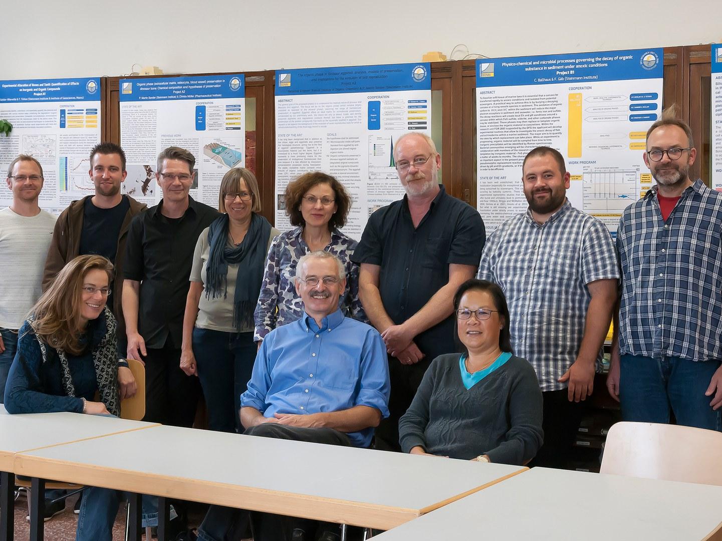 Die Mitglieder der neuen Forschergruppe