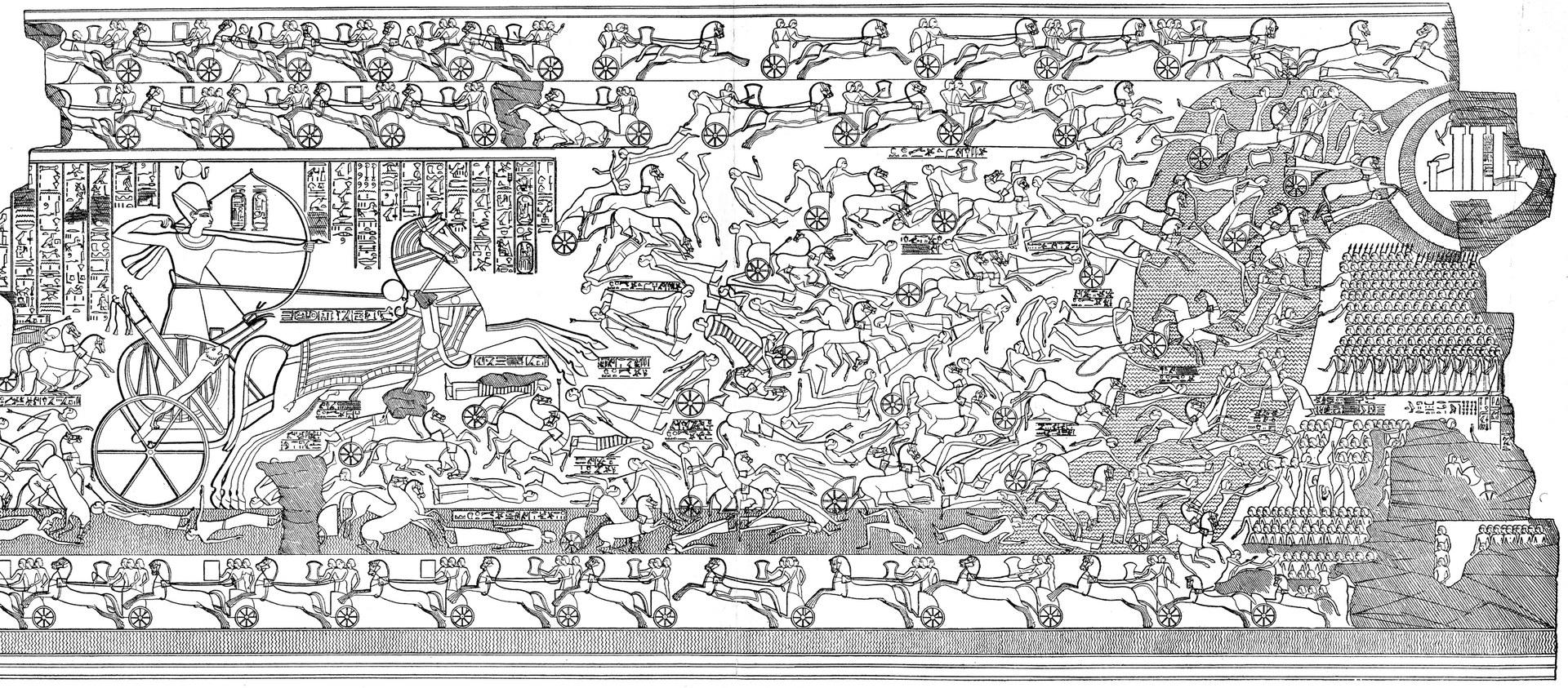 Die Schlacht von Kadesch