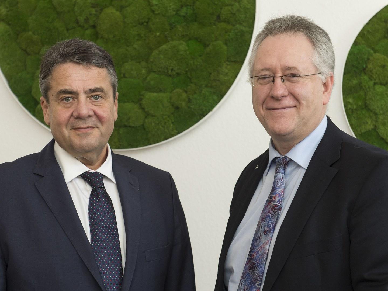 Bundesaußenminister an der Universität Bonn