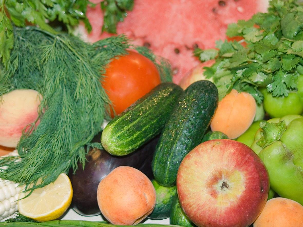 Mehr Obst und Gemüse?