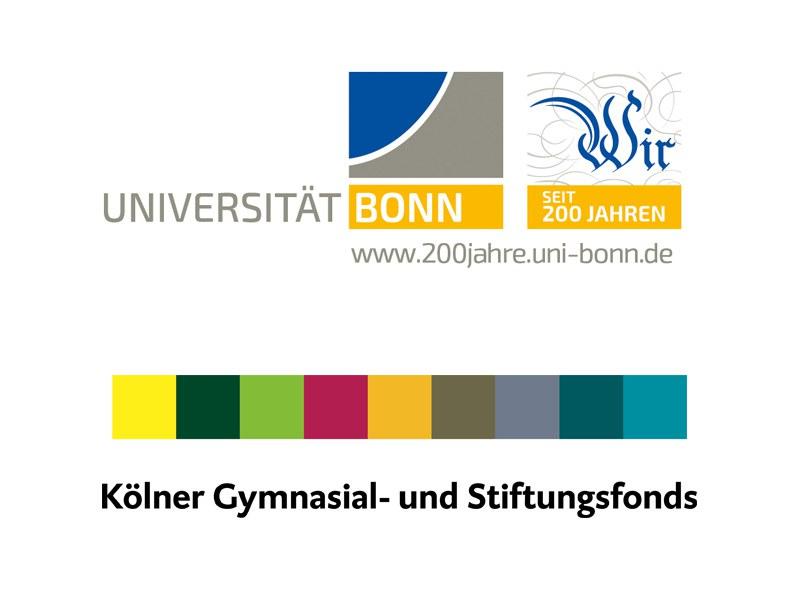 Logos Uni Bonn / KGSF