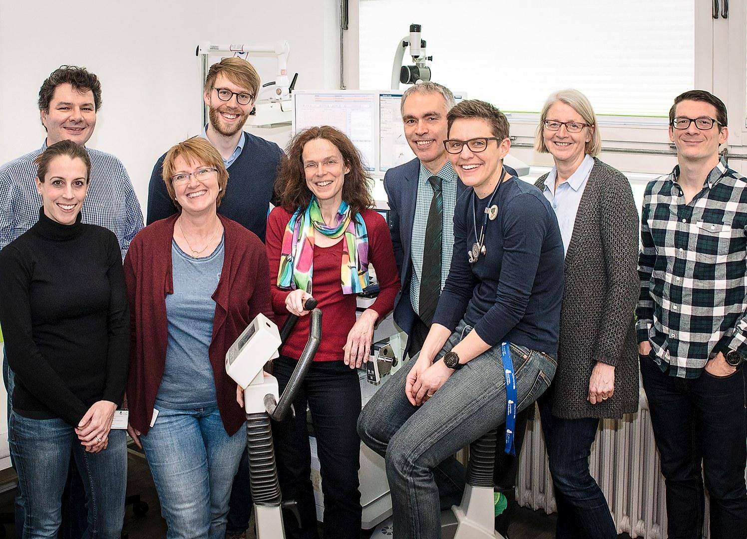 Wissenschaftliches Team der Kinderkardiologie am Uni-Klinikum Bonn: