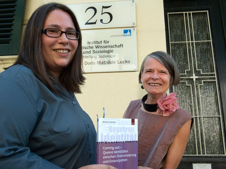Dr. Bärbel Schomers (links) und Prof. Dr. Doris Mathilde Lucke