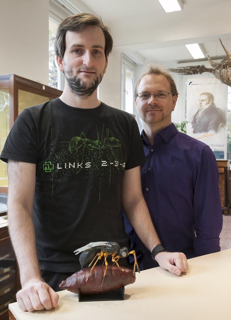 Thomas Engler (links) und Bastian Mähler (rechts)