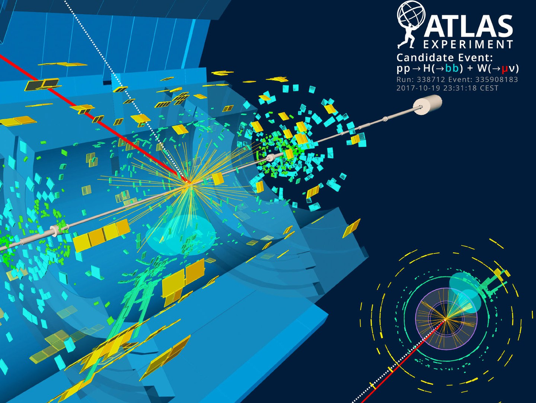 Kollision zweier Protonen