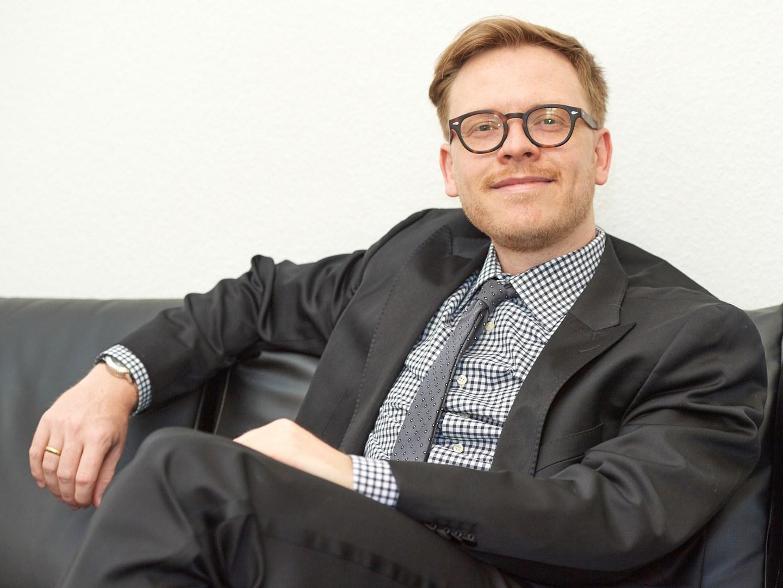 Der Philosoph Prof. Dr. Markus Gabriel