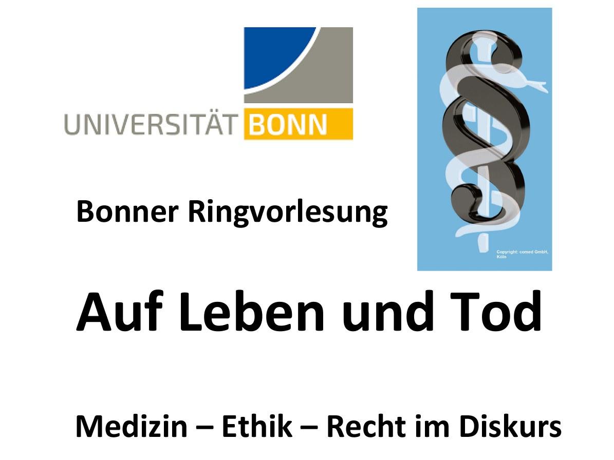 """Die Ringvorlesung """"Auf Leben und Tod"""""""