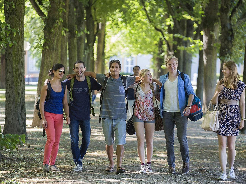 Studierende der Uni Bonn