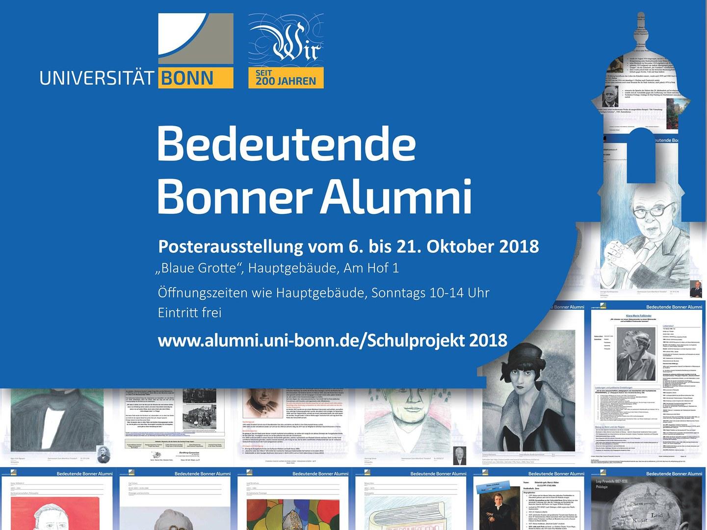 Zum Jubiläum 200 Jahre Universität Bonn