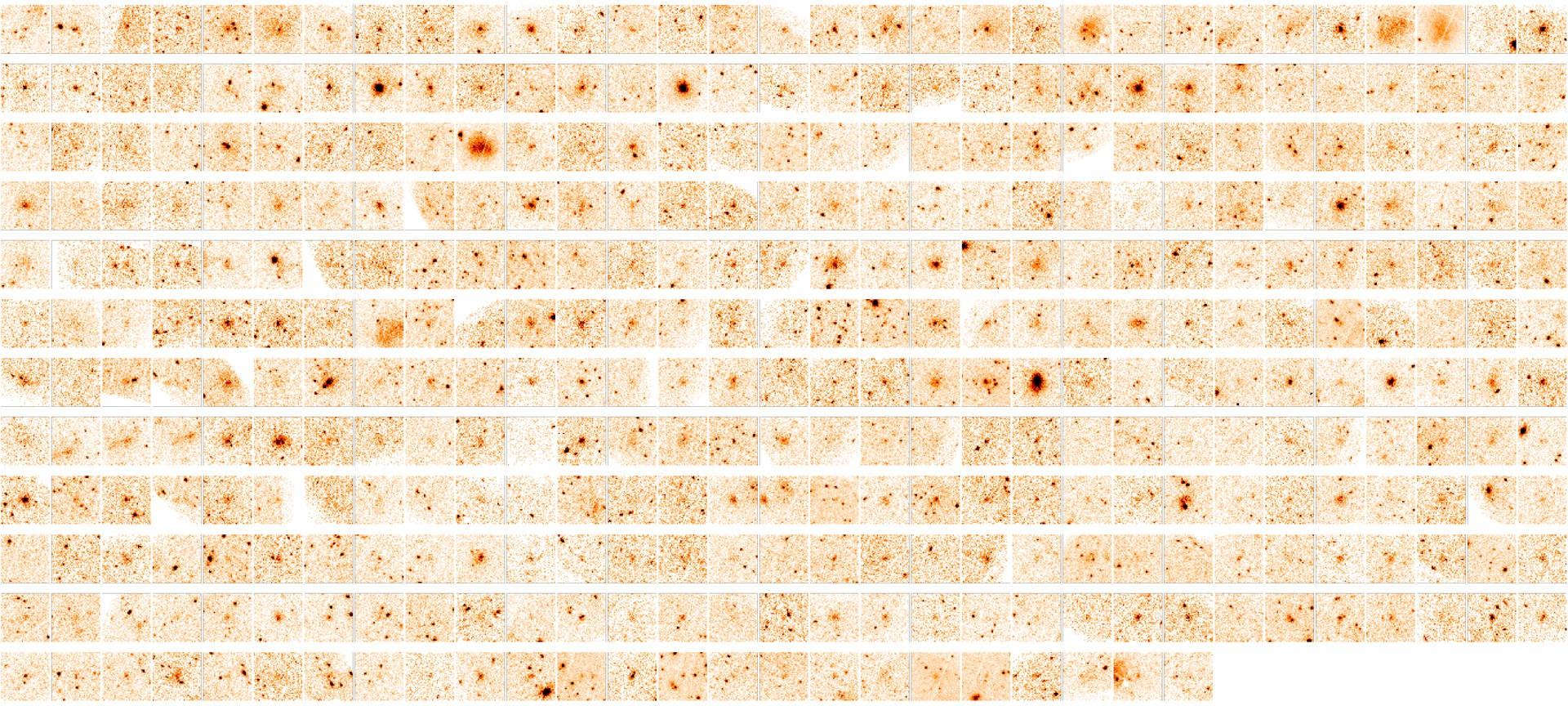 Das Mosaik zeigt die vom XMM-Newton-Satelliten