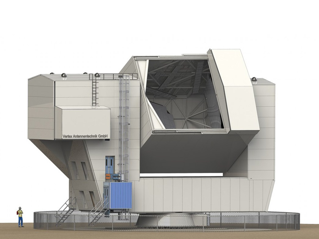 Abbildung des Cerro Chajnantor Atacama Telescopes