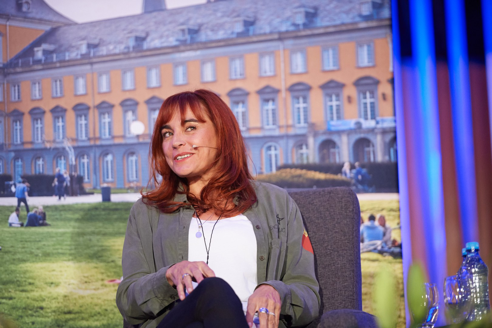 Moderatorin Diana Eichhorn