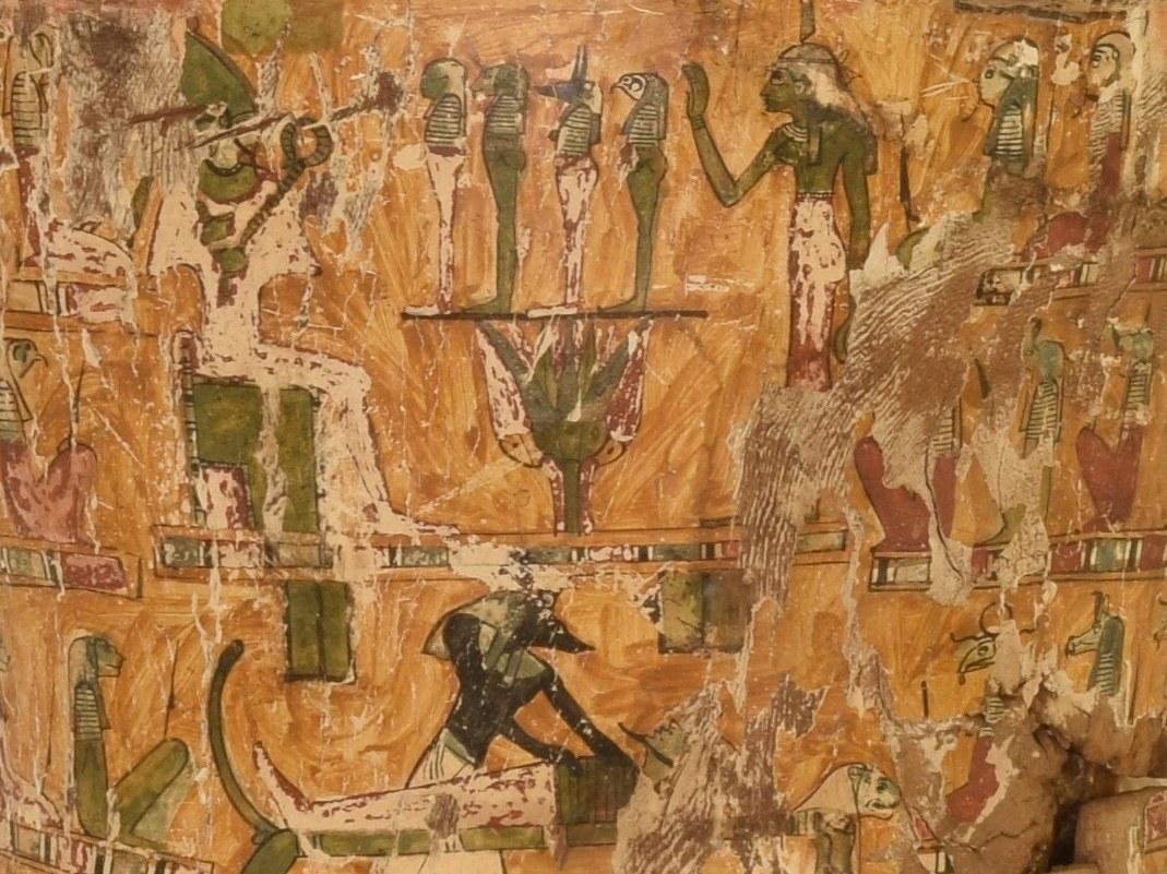 Osiris über Anubis