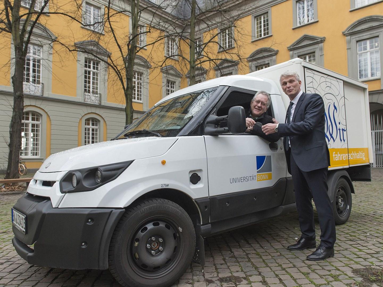 StreetScooter der Universität Bonn