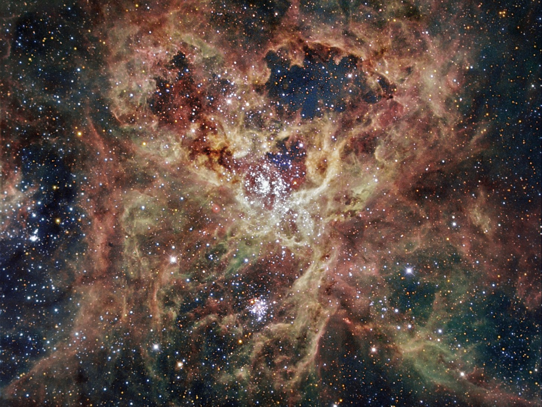 Die Große Magellansche Wolke beherbergt überraschend viele massereiche Sterne