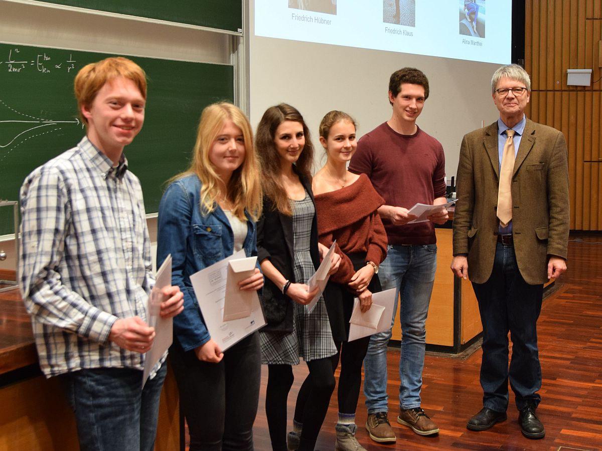 Bachelor-Preis für Physik und Astronomie