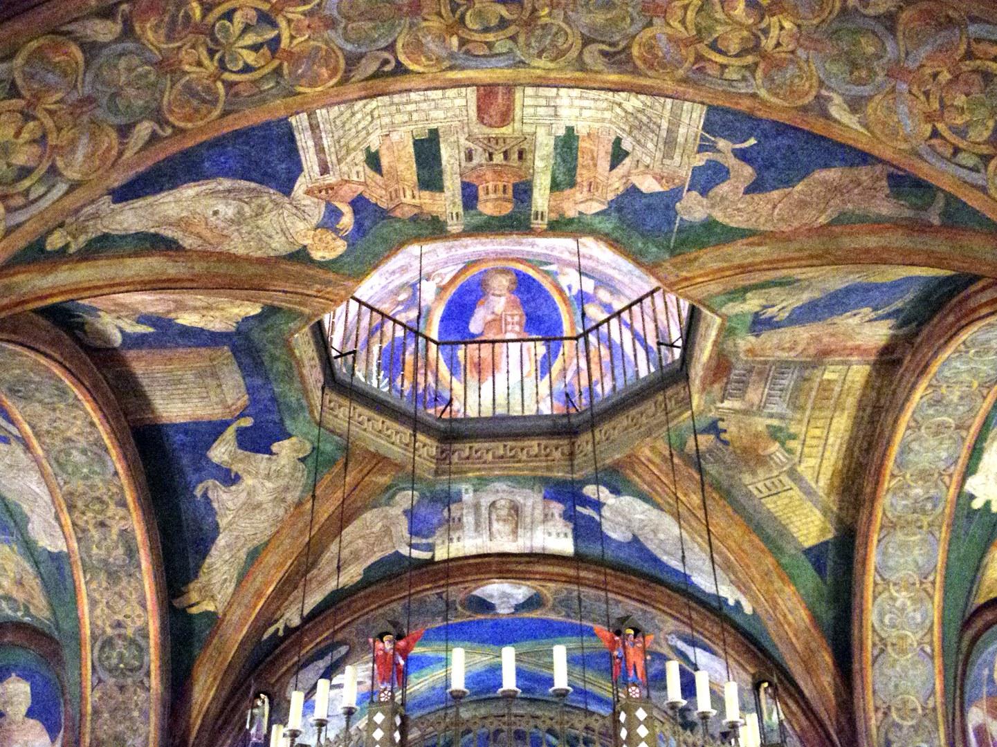 Blick aus der Unterkirche
