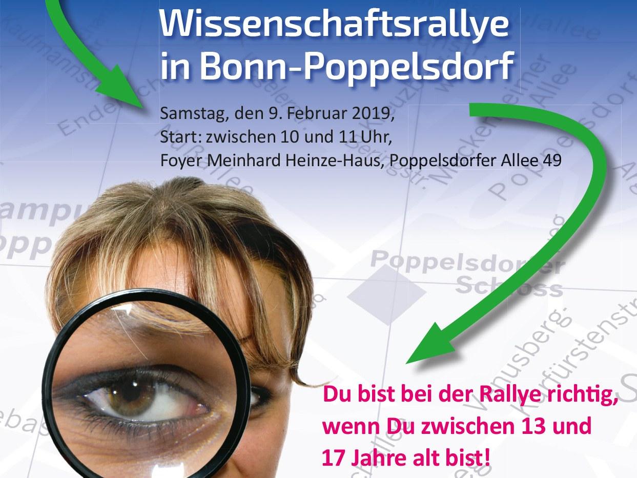 Die Wissenschaftsrallye durch Poppelsdorf