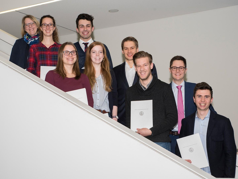 Die Preisträger (von links nach rechts):