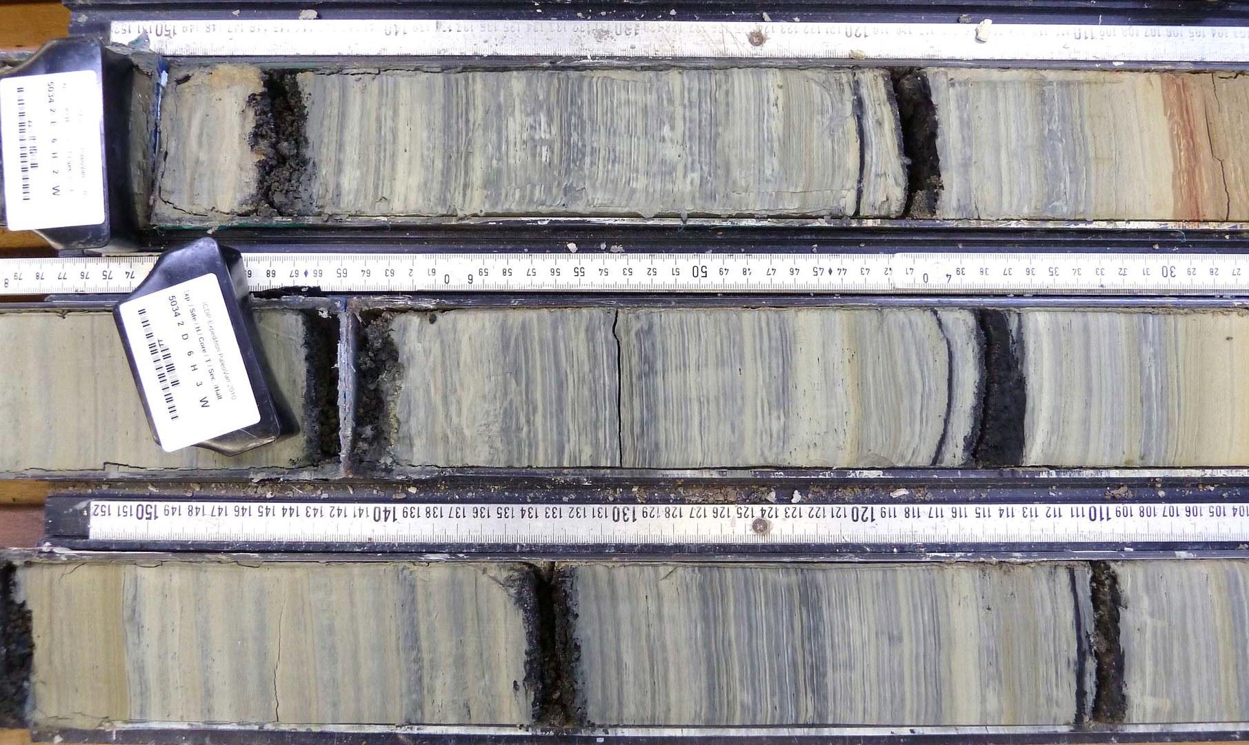 Die Sedimente des Vansees