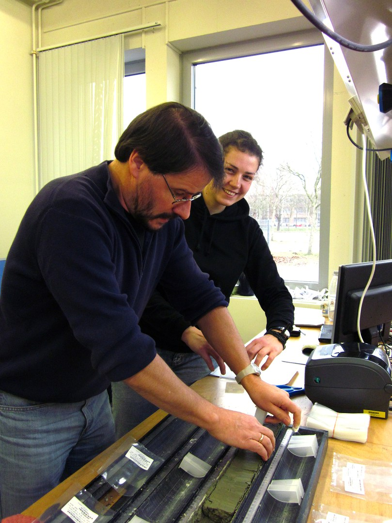 Prof. Dr. Thomas Litt und Manuela Rüßmann