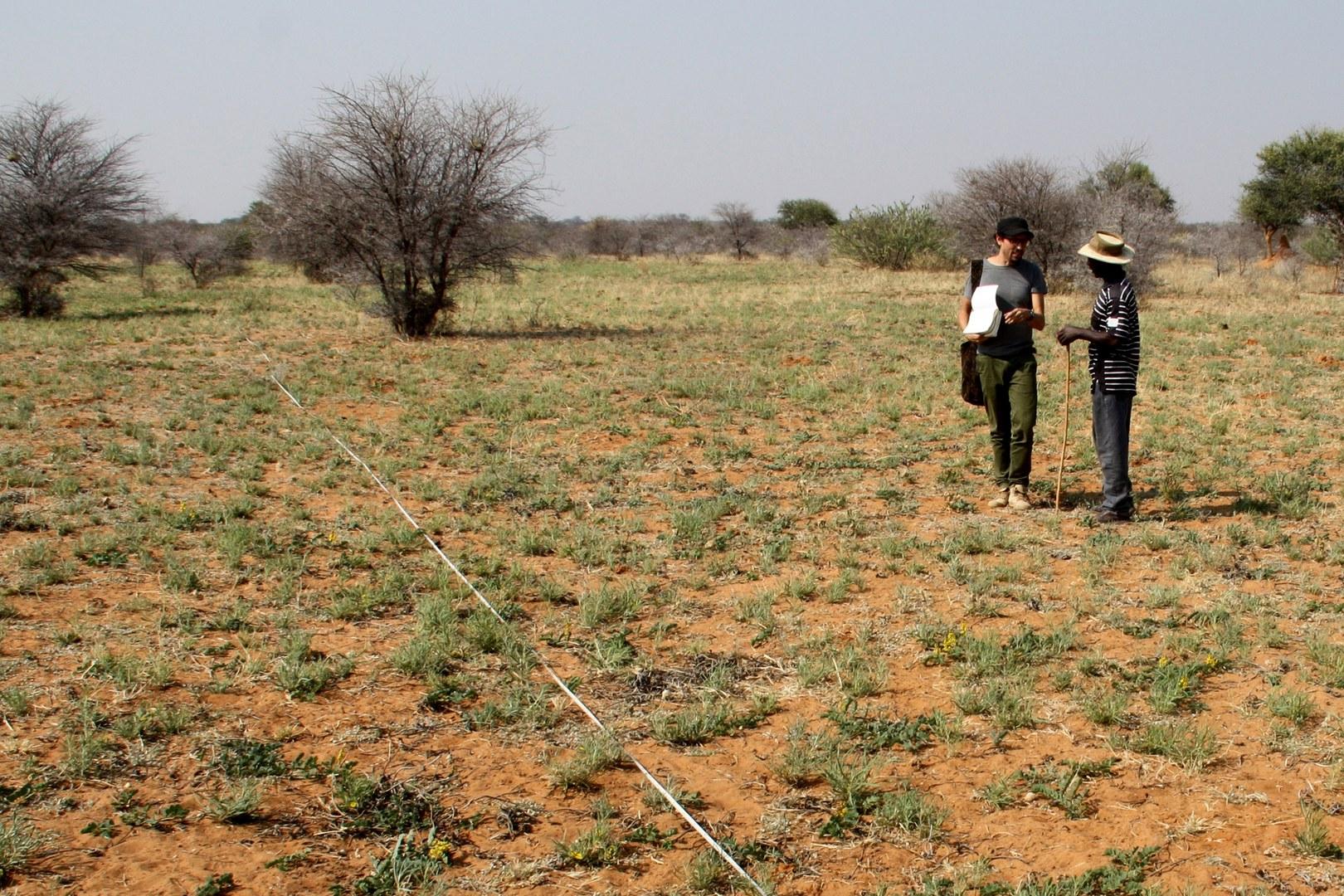 Welche Erfahrungen haben Farmer vor Ort zu Kipppunkten der Desertifikation?