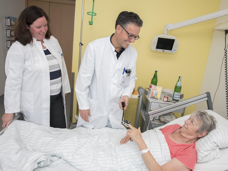Visite in der Beobachtungsstudie zum postoperativen Delir im Alter: