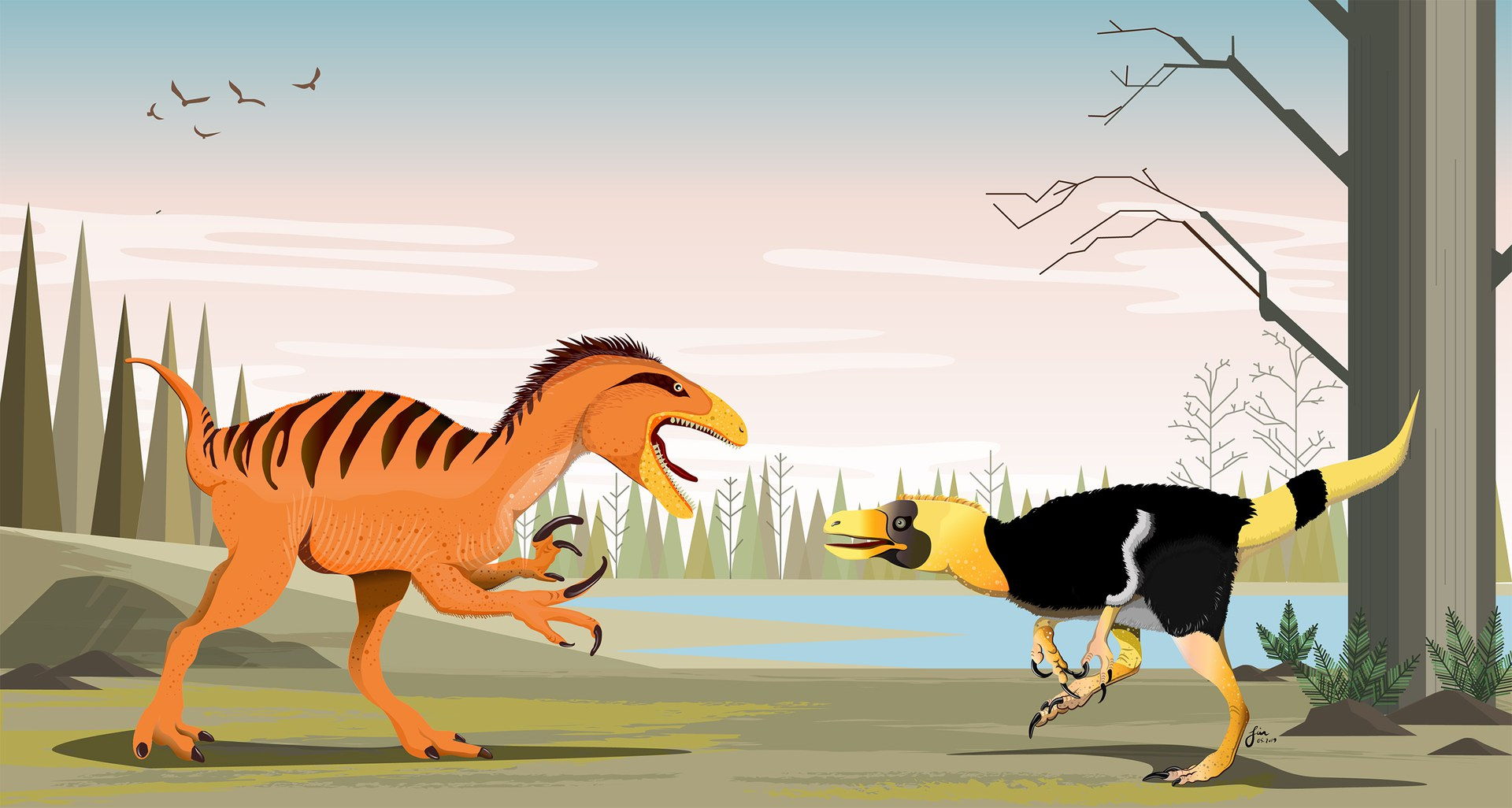 Phuwiangvenator und Vayuraptor