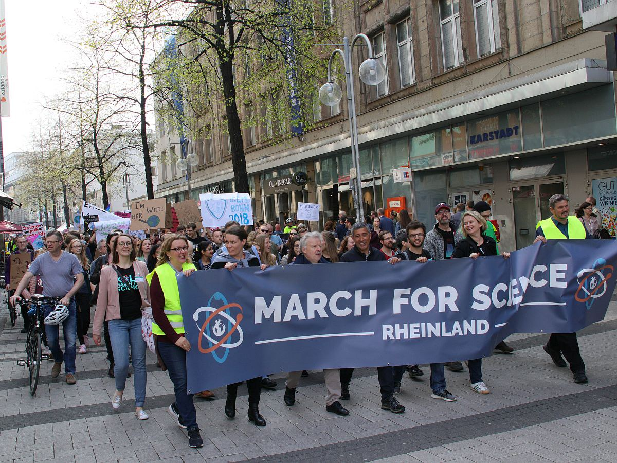 Beim March for Science
