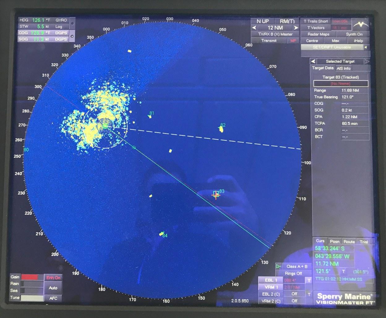 Das Radarbild