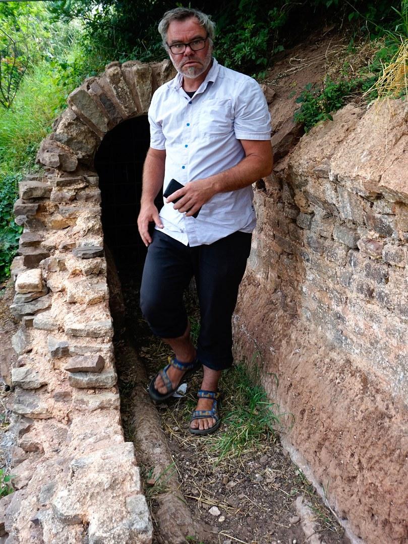 Der Geologe Dr. Gösta Hoffmann von der Universität Bonn