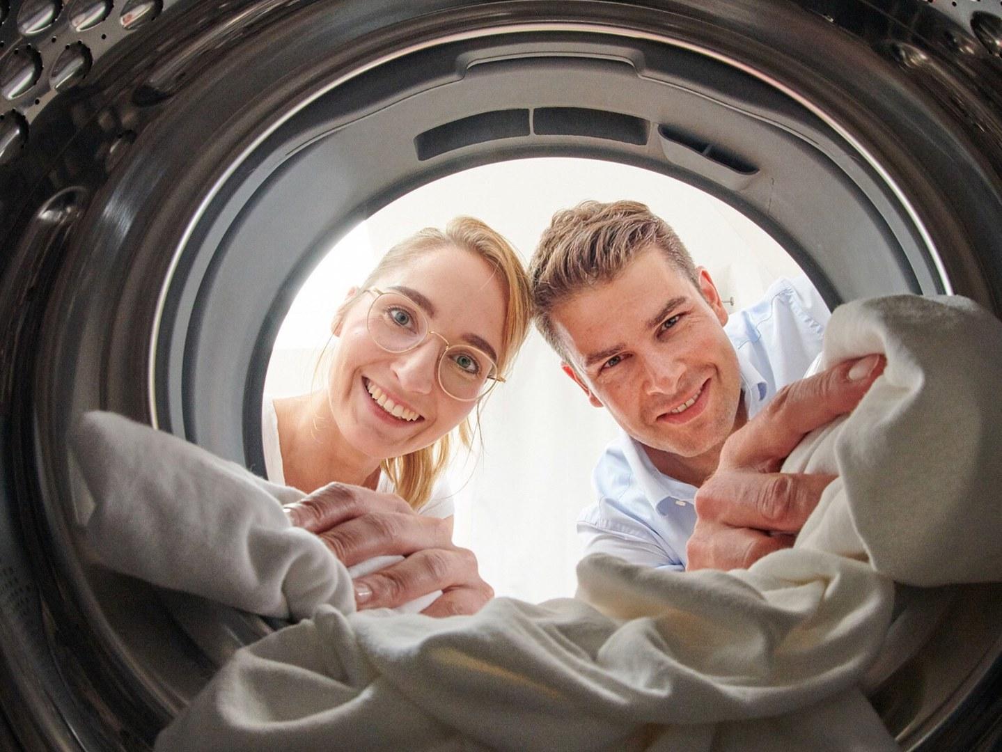 Auch Waschmaschinen können gefährliche Keime enthalten: