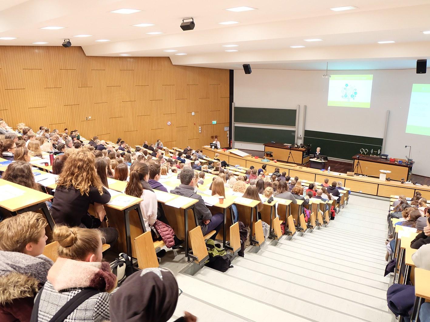 Bei den Bonner Hochschultagen