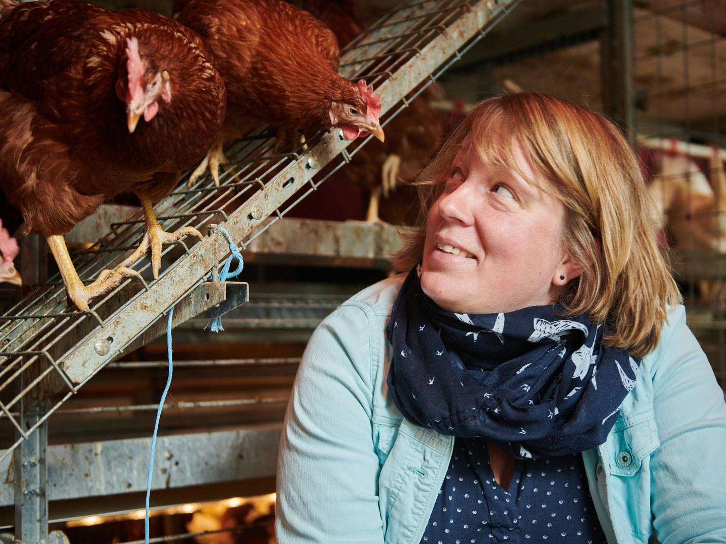 Dr. Inga Tiemann vom Institut für Tierwissenschaften