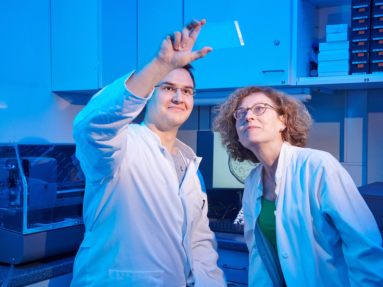 Tobias Claff und Prof. Dr. Christa Müller