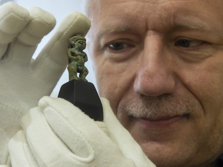 Der Ägyptologe Prof. Dr. Ludwig Morenz