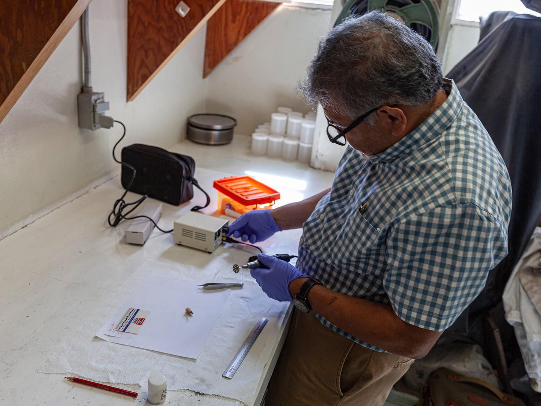 Geologe Teodoro Hernández Treviño