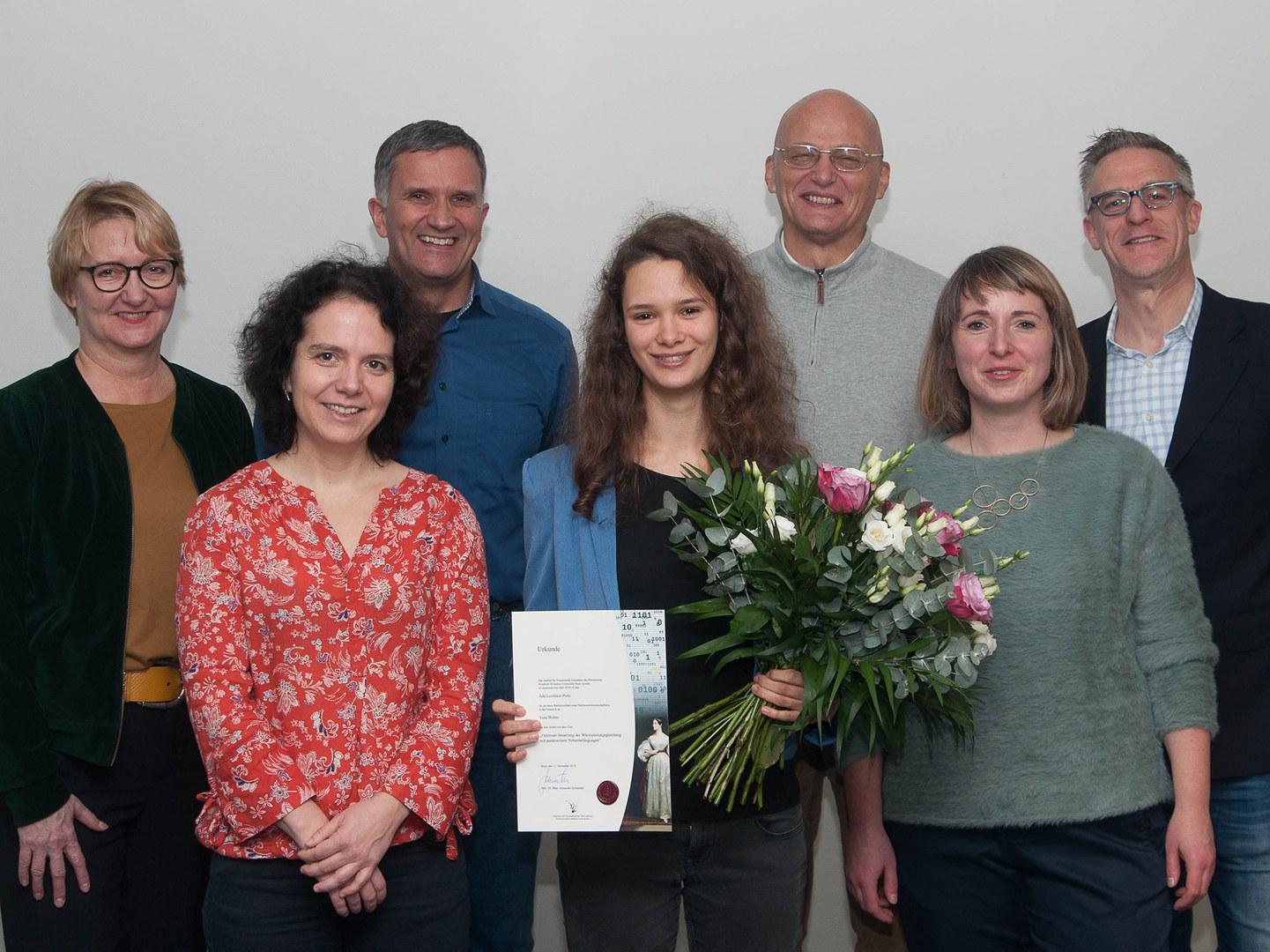 Verleihung des Ada Lovelace-Preises an der Universität Bonn: