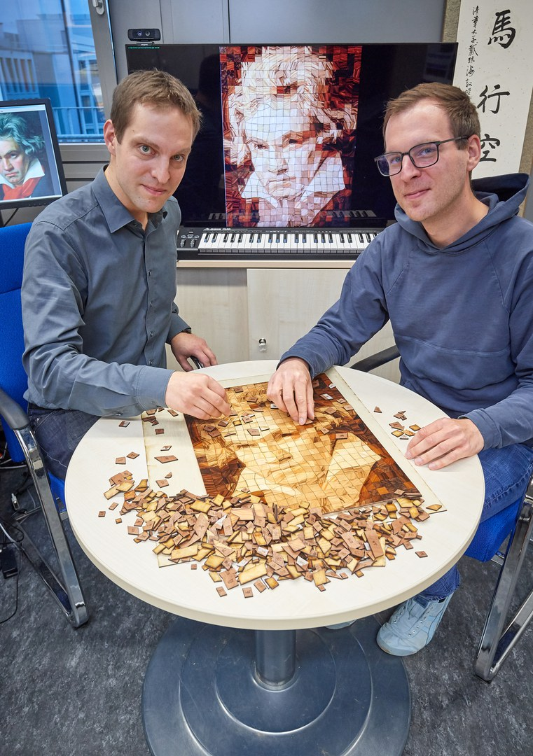 Beethoven aus Holz