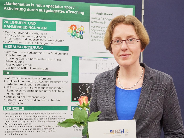 Mathematik-Dozentin Dr. Antje Kiesel