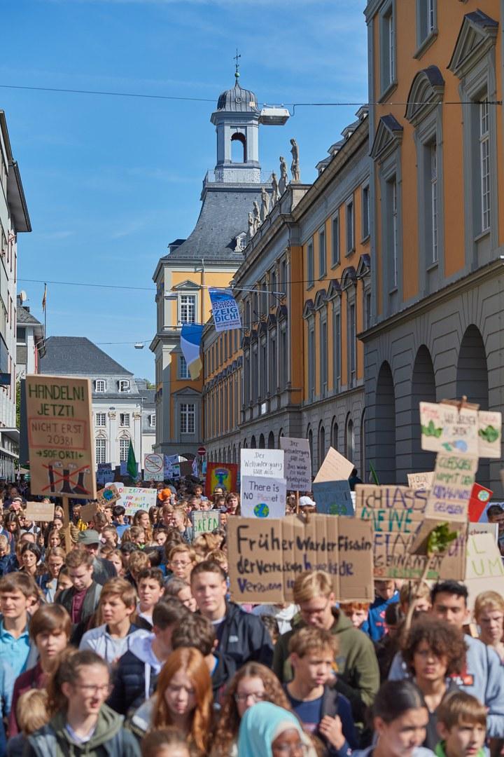 Klimademo Bonn 2