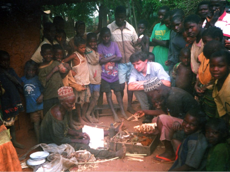 Research 2002 on site in East Africa: