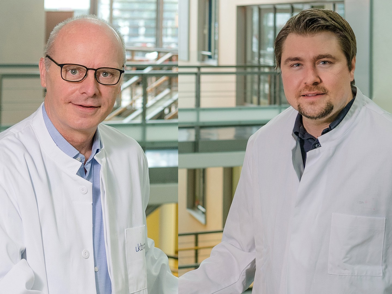 Prof. Dr. Markus M. Nöthen (left)
