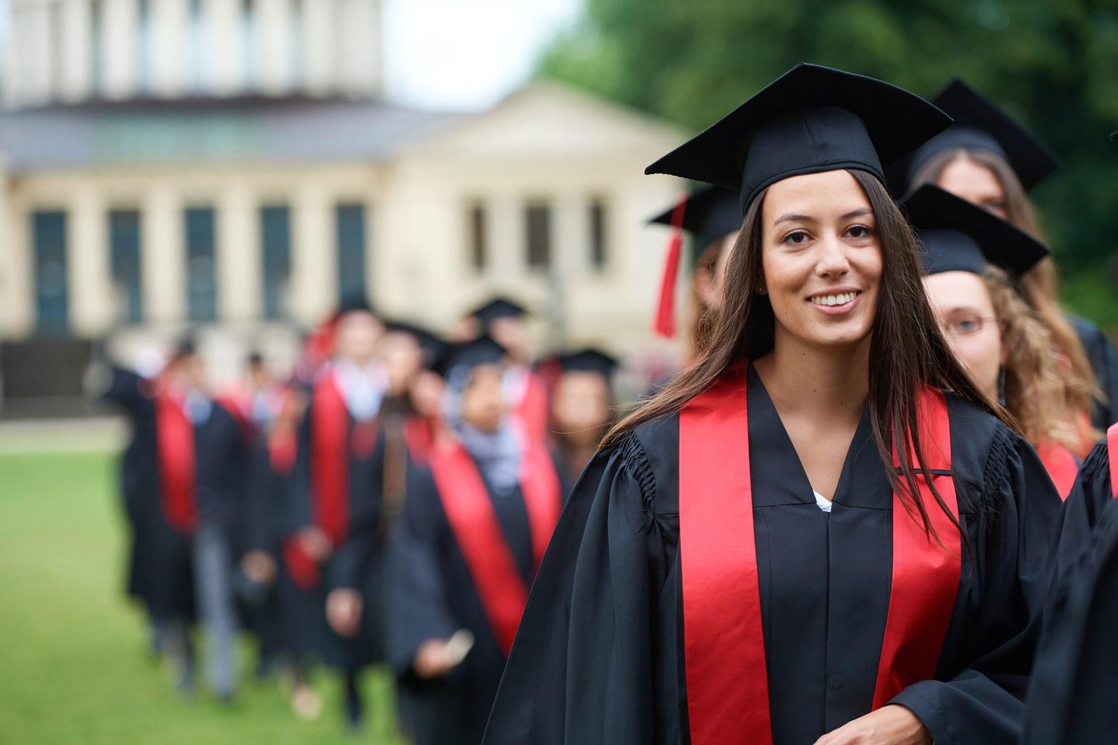 Graduation Walk
