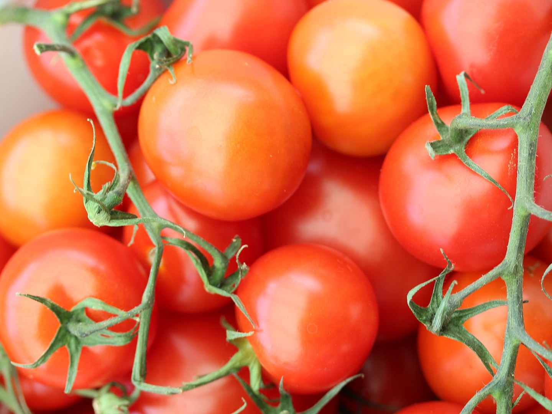 With tomato