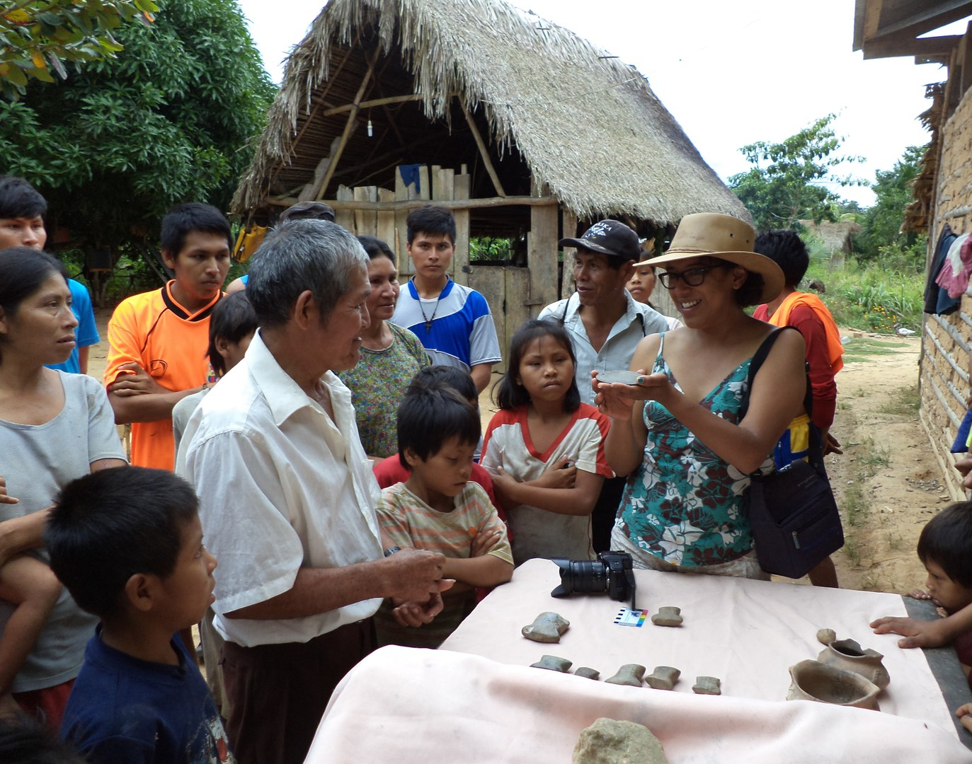 The Tsimane community