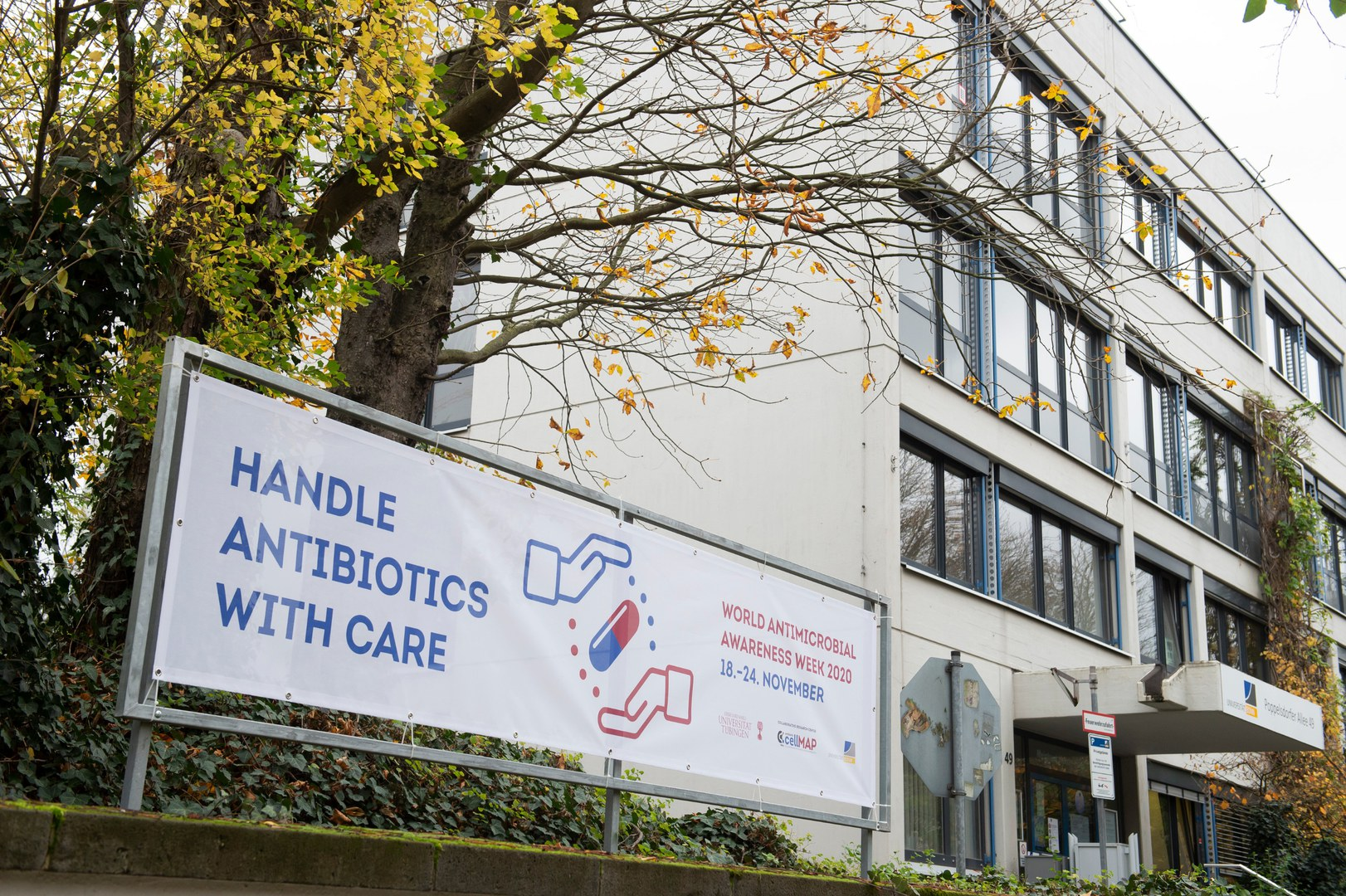 Waving a flag for antibiotics