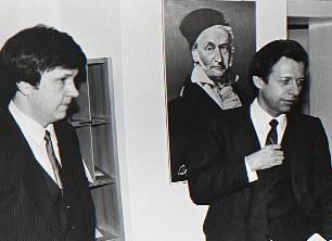 Prof. Dr. László Lovász (left) and Prof. Dr. Bernhard Korte (right)