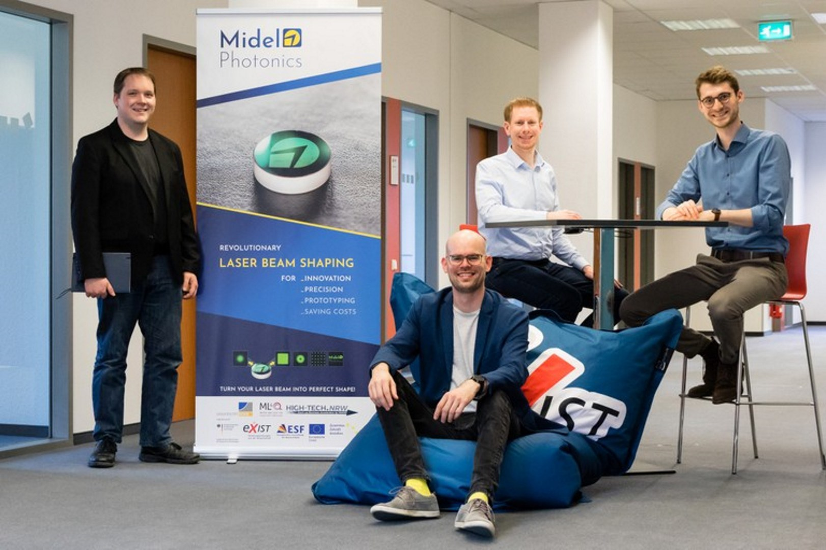 Founders of Midel Photonics