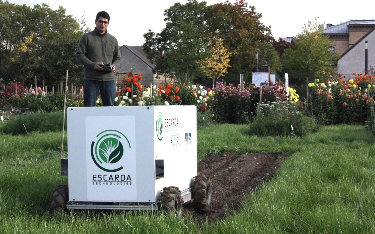 Start-up Escarda Technologies with founder Julio Pastrana